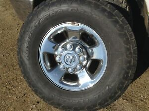 Dodge 1 ton rims and tires