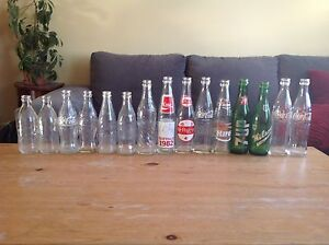 Collectable Pop Bottles