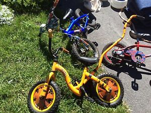 Tigger bike with handle