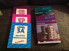 Year 11/12 Maths Text books asserted prices Shoalwater Rockingham Area Preview