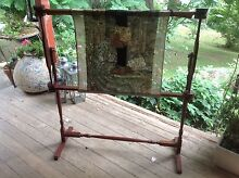 LARGE TURNED WOOD EMBROIDERY FRAME $40 ONO Kurrajong Hawkesbury Area Preview