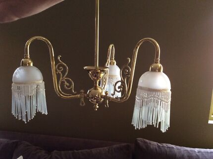 Victorian brass light fitting ceiling lights gumtree australia