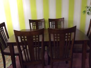 Dining set in very good condition