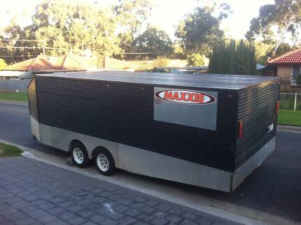 Fully enclosed Car,bike,quad speedway trailer 7m long Redwood Park Tea Tree Gully Area Preview