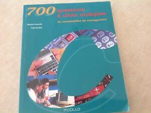 Livre neuf comptabilité (700 questions à choix multiple)