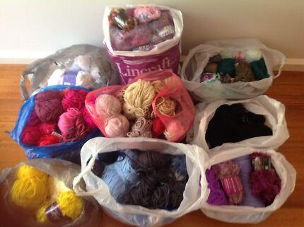 Mixed bags wool