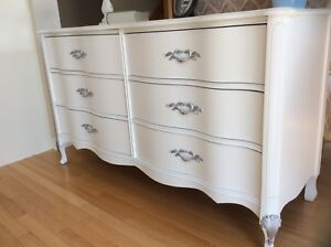 Dresser refurbished.Firm price.Also Nightstands for sale