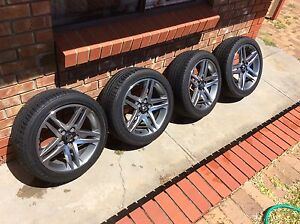Holden Commodore Sv6 Series 2 Alloy Wheels Wynn Vale Tea Tree Gully Area Preview