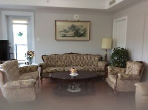Sofa, Love seat and Arm Chair for  Sale
