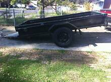 BOX TRAILER 8X4, no rego led LIGHTs work, quick hitch coupling 7 Mount Druitt Blacktown Area Preview