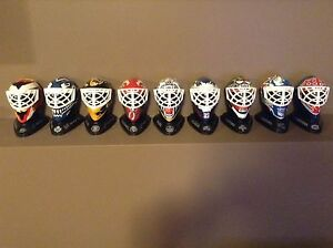 1996 McDonalds NHL Mini Goalie Masks