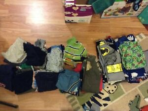 Huge lot of boys 18-24/2T clothes ONLY $20!!!