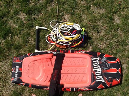 Test  pilot knee board and tow rope Armidale 2350 Armidale City Preview