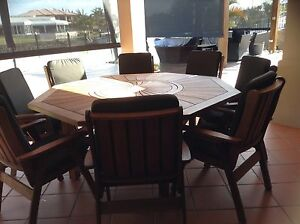 Outdoor Dining Suite Cleveland Redland Area Preview