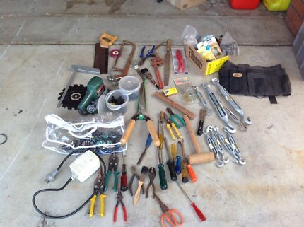 Assorted Tools and Garden Accessories