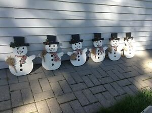 Winter Snowmen