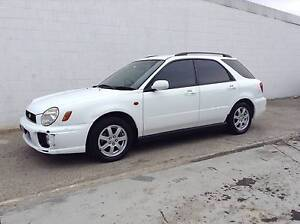 2001 Subaru Impreza RX AWD 5-speed VERY LOW KMS Hatchback Wagon Kirrawee Sutherland Area Preview