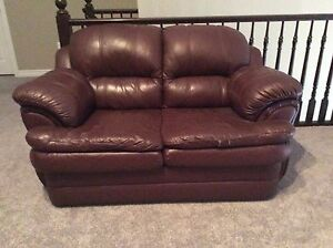 Love Seat - leather seating