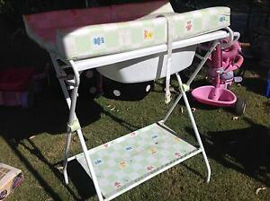 Baby change table with built in bath Wandi Kwinana Area Preview