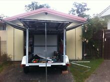 INCLOSED 6x4 BOX TRAILER 3 DOORS OPEN Penrith Penrith Area Preview