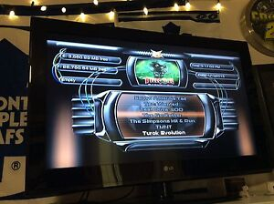 Original Xbox with upgraded hard drive and lots of games