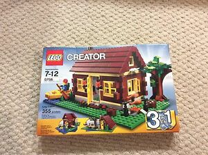 Lego Log Cabin (Retired Set)