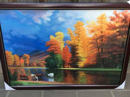 oil paintings with frame 60cm*90cm museum quality Maribyrnong Maribyrnong Area Preview