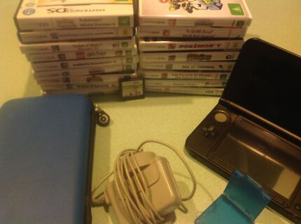 3DS  with 18 games