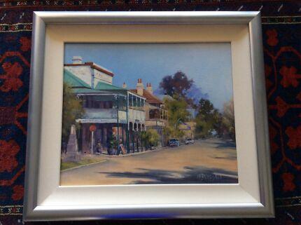 Original Oil Painting by Kay McFarlane Smith - Morpeth Charlestown Lake Macquarie Area Preview