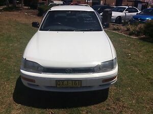 1997 Toyota Camry Intrigue 4 Cyl 5 speed Long Rego Top Car Woodbine Campbelltown Area Preview