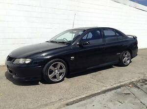 2001 Holden Commodore VX SS V8 6-speed MANUAL LOW KMS BLACK Sedan Kirrawee Sutherland Area Preview