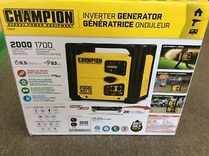 Champion 2000W Portable Inverter Generator - BRAND NEW