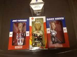 Bobble Heads mini coupe Stanley hockey NHL Canadiens