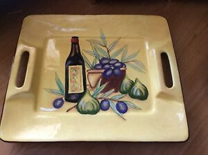 Kitchen ware, plat de service, verre, etc.