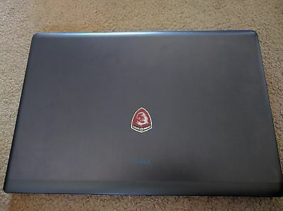 "MSI GS70 2QE STEALTH PRO●17""●GTX 970M●1TB●i7-4720HQ 3.6GHz●16gb●1080p●MINT FAST"