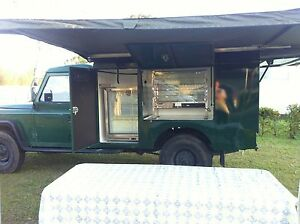Food Truck Land Rover Defender Newcastle Newcastle Area Preview
