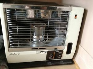 sunbeam one touch radiant kerosene heater