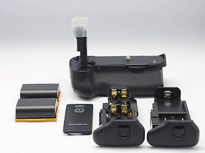 2x LP-E6 +BG-E11 Vertical Battery Grip Holder for Canon 5D Mark III 5D3 Camera