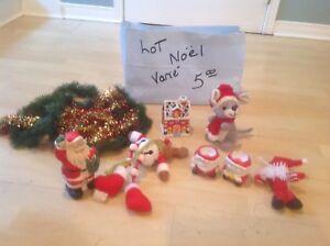 Lot de décorations de Noël le tout 5$