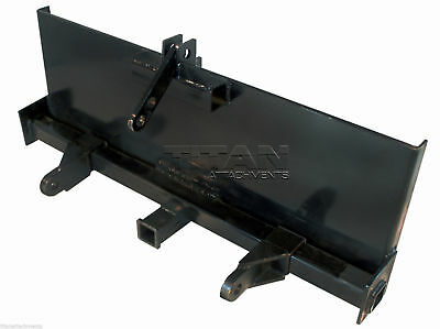 3-point Attachment Adapter For Universal Skid Steers Quick-attach Equipment