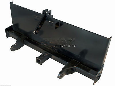 3-Point Attachment Adapter for Universal Skid Steers, Quick-Attach Equipment