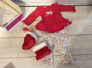 Authentic American Girl Doll NEW in box Polar Bear PJs