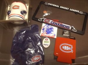 Items collection hockey fans Canadiens carte