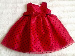 POSSIBLE DELIVERY Beautiful Holiday dress Like NEW size 18mo