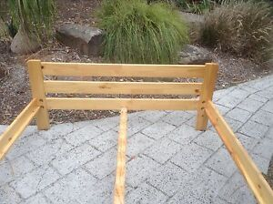 Bed frame with slats Eltham Nillumbik Area Preview