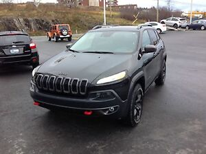 Jeep Cherokee Trail hawk 2015