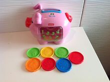Fisher price laugh n learn piggy bank with music - excellent cond The Gap Brisbane North West Preview