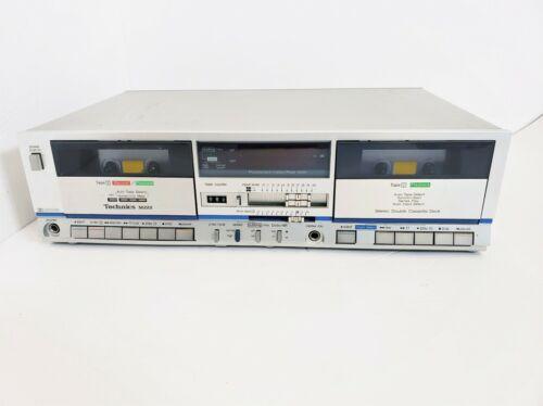 Technics RS-M222 Stereo Dual Double Cassette Deck Player Recorder Vintage 80