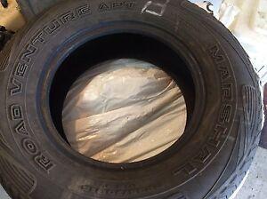 4 pneus été  235/70/R15