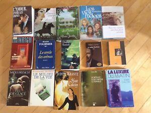 Lots de livres (voir prix dans description)